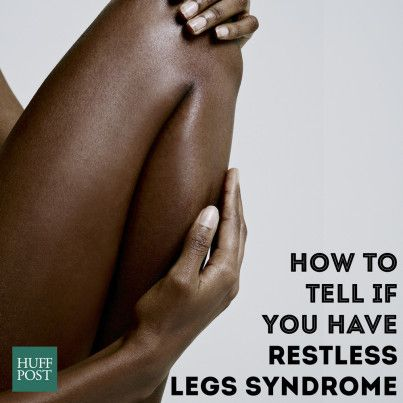 Assumptions about restless leg syndrome