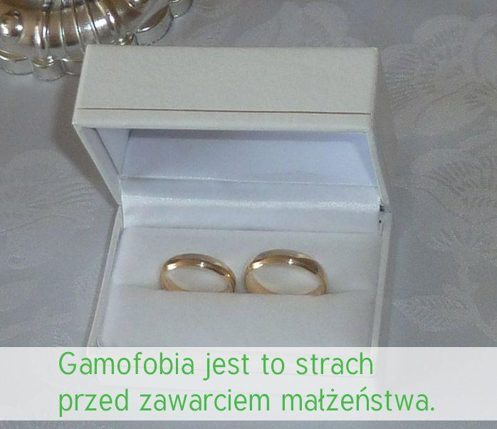 Gamofobia, czy boisz się swojego ślubu?  www.firia.pl