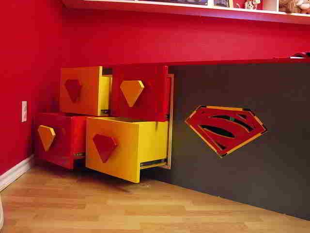73 best Superman bedroom images on Pinterest | Bedrooms, Child room ...