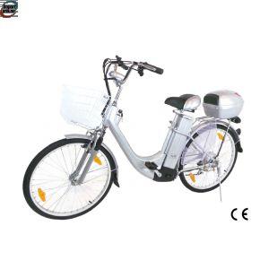 """Elektrisk sykkel 250W 26"""" fra tyske V-Motors - sølv"""