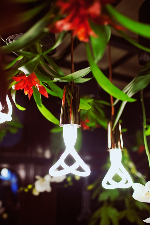 "The ""Power Flower"" installation by @boskke and @PLUMEN at Clerkenwell Design Week 2013 - http://www.plumen.com - http://www.boskke.com - Photography - Jessica Klingelfuss"