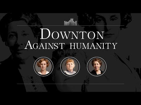 "The Cast Of ""Downton Abbey"" Played Cards Against Humanity And It's So Very Wrong"