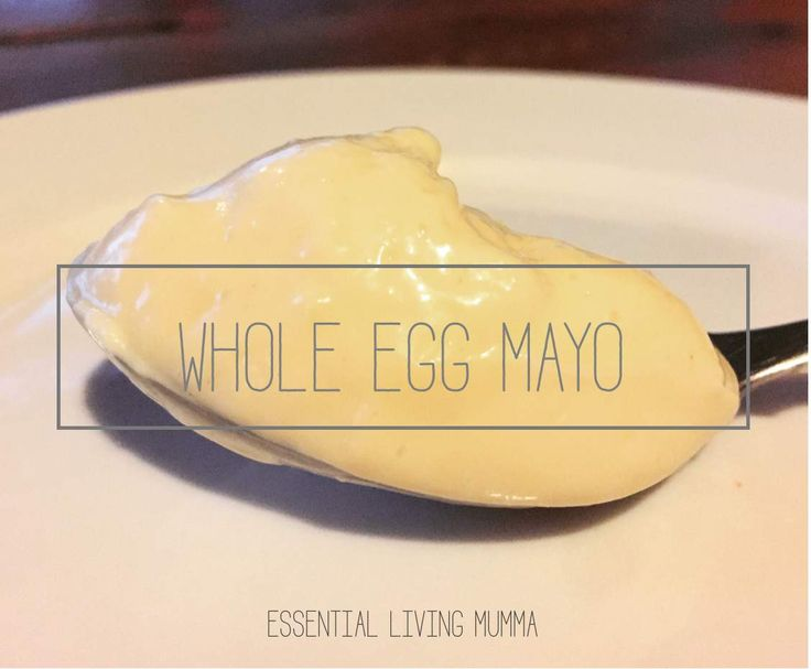 Recipe Best no fail whole egg mayonnaise LCHF friendly - Essential Living Mumma by Essential living mumma - Recipe of category Sauces, dips & spreads