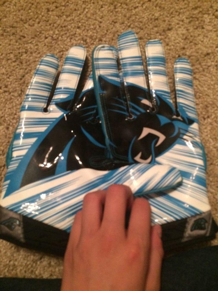 carolina panthers receiver gloves