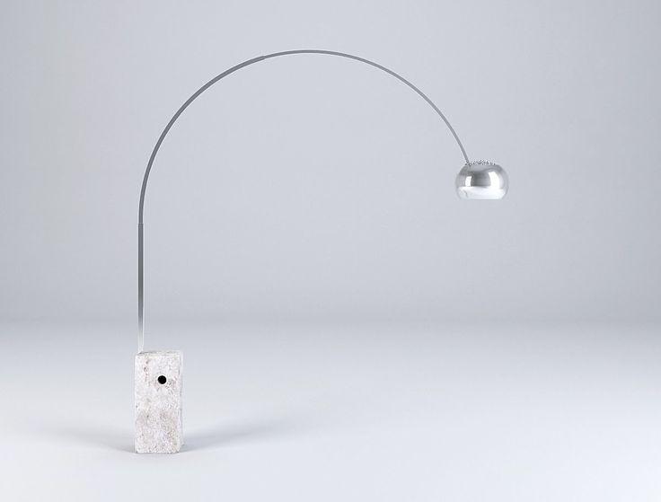 home design pinterest arco floor lamp industrial design and floor lamp