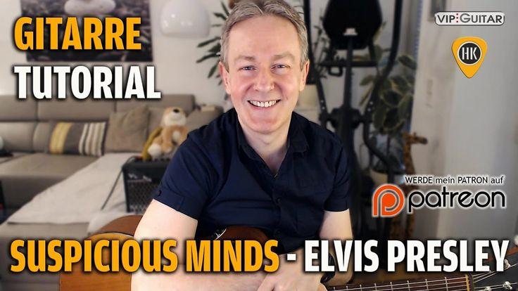 Tutorial - Suspicious Minds - Elvis Presley - Rhythmusgitarre