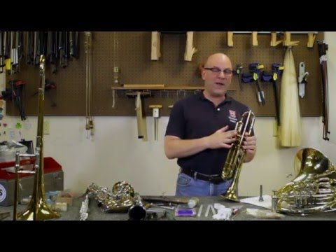 how to fix a trumpet valve that is stuck