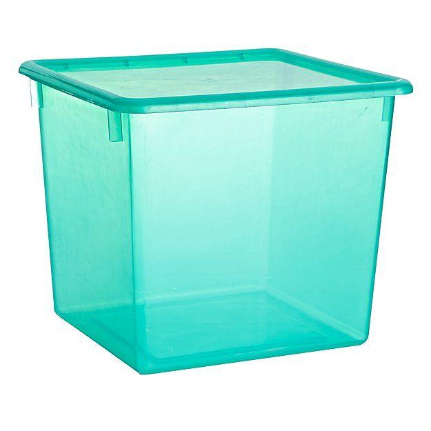 Large Green Plastic Storage Box Large Plastic Storage Boxes