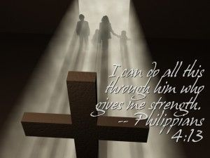 I can do all this through him who gives me strength.- Philippians 4:13    - Philippians 4:13