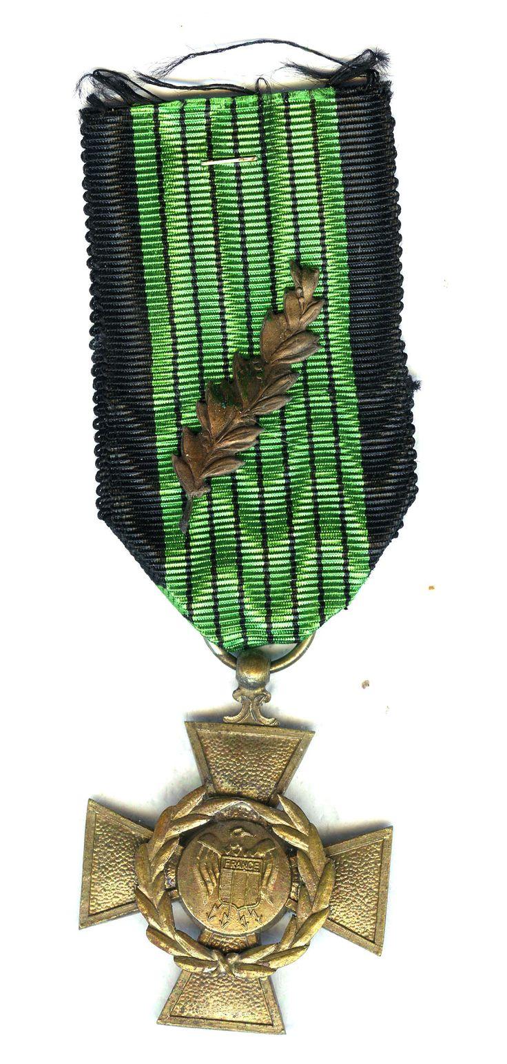 FRANCE - Croix de Guerre Legionnaire