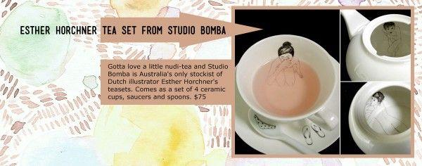 We Love Perth Christmas Gift Guide: Tea set from Studio Bomba.