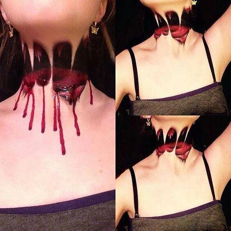 Beheading makeup