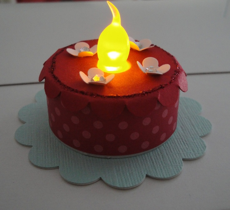 112 best Tea Light Cakes Crafts images on Pinterest Tea light