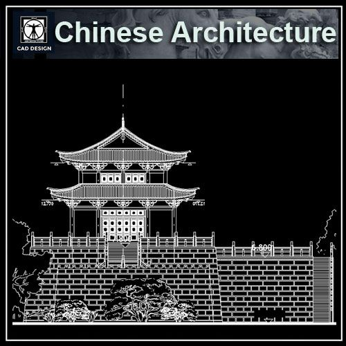 65 Best Chinese Architecture Drawing Chinese Temple Tower