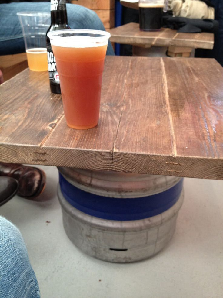 Your kegs aren't making you any money when they're holding up a table.