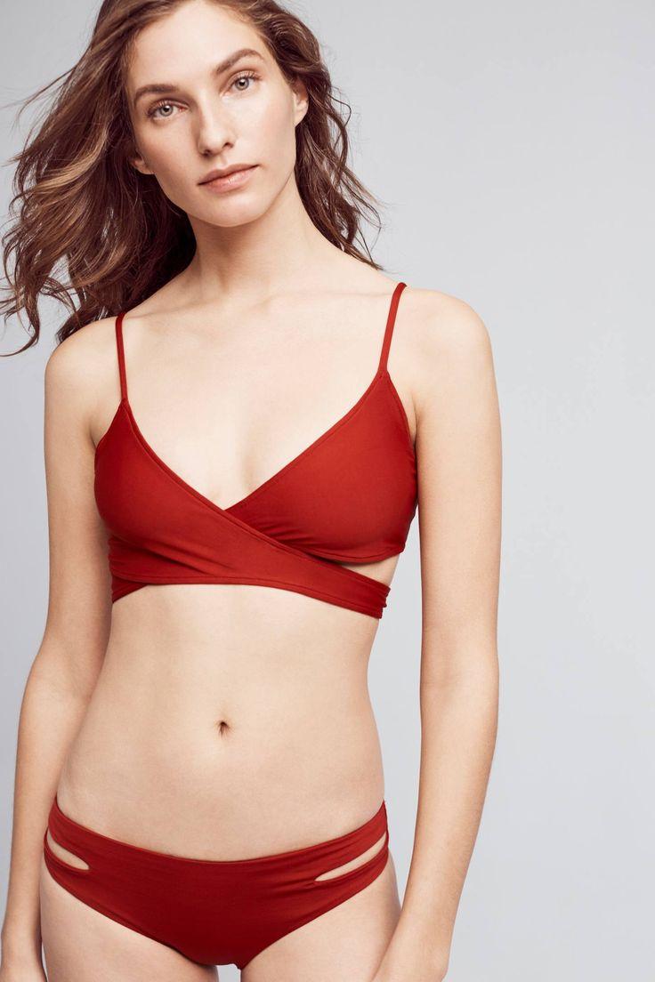 Slide View: 1: L Space Chloe Wrap Bikini Top