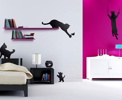 kunst f r die wand das wandtattoo flure kunst und w nde. Black Bedroom Furniture Sets. Home Design Ideas