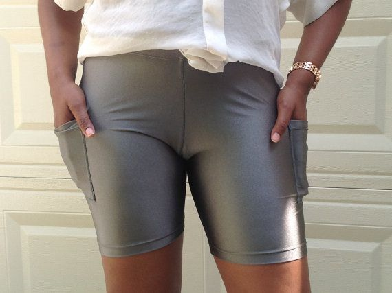 Compression Shorts w/ 7' inseam by iGlowRunning on Etsy