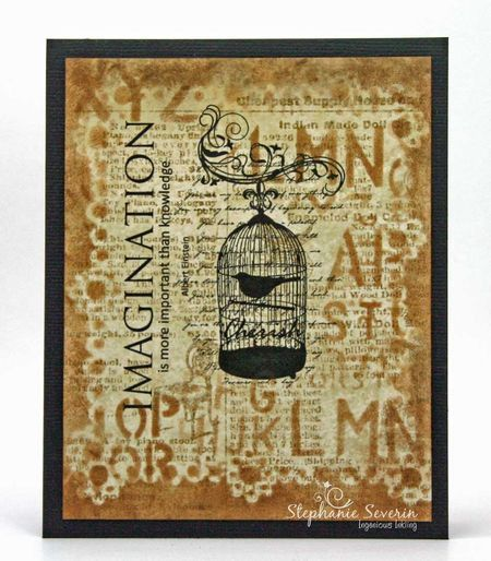 Stephanie Severin - Ingenious Inkling Imagine Collection - Stamp It Australia Crafter's Companion