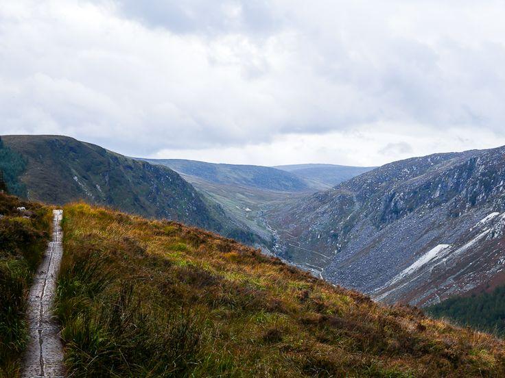 Wicklow mountains   glendalough   ireland   dublin   hiking   nature  