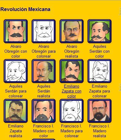 20 de noviembre y sus personajes: