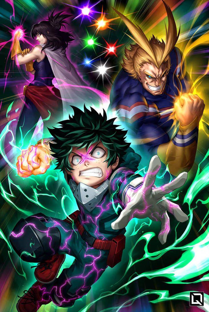 One For All By Quirkilicious My Hero Hero My Hero Academia Manga