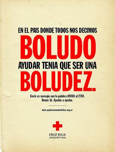 Colabore para no desaparecer .... Argentina