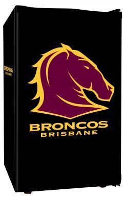 Brisbane broncos rugby league bar fridge - wouldn't this be cool for a footy party