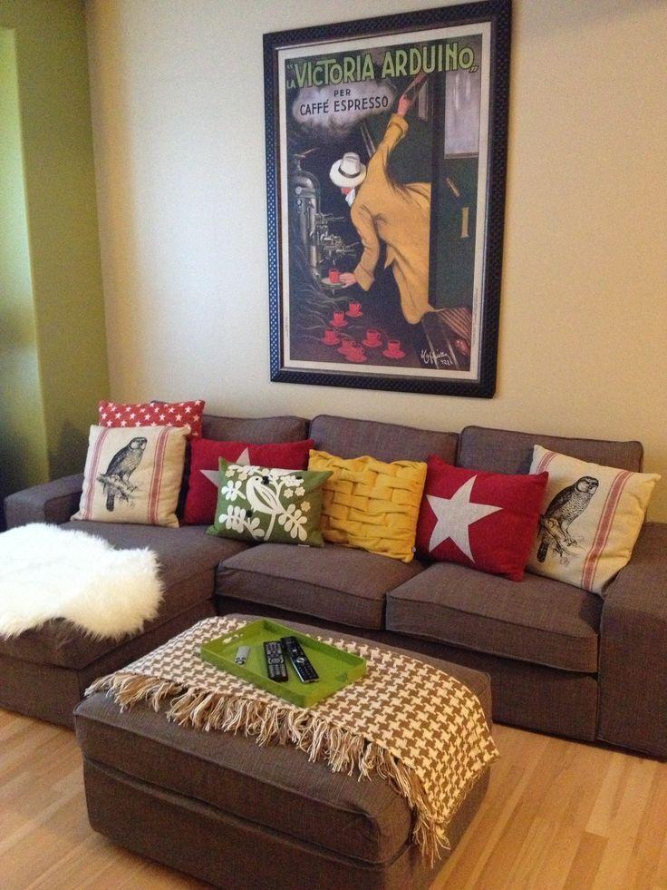 My Cozy Living Room! Ikea Kivik Part 89