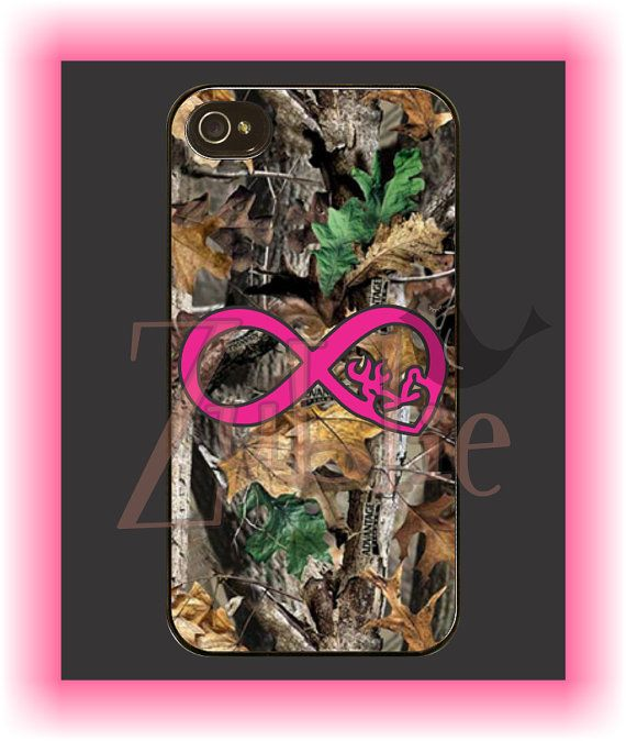 Pink Browning Heart Infinity Camo Phone Case by Zublie on Etsy
