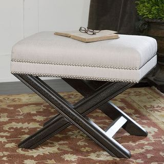 Viera Black Wood Bench Overstock Shopping Great Deals