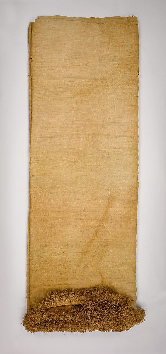Linen sheet of Myt  Date: ca. 2051–2030 B.C. 11 dyn  Deir el-Bahri, Tomb of Myt, Temple of Mentuhotep II, Pit 18, MMA 1920-1921  Accession Number: 26.3.14