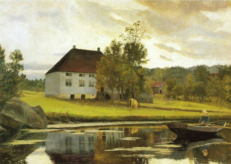 "Kitty Kielland  ""After Sunset"""