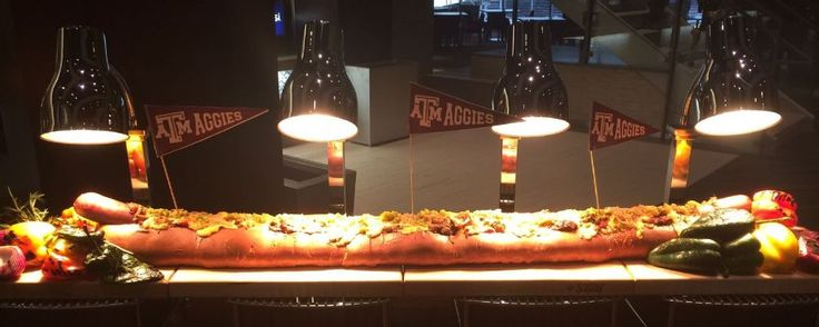 12-pound hot dog is just one of the crazy things at the new Kyle Field