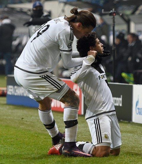 Legia Warszawa Sporting Lizbona Guilherme i Aleksandar Prijović Liga Mistrzów #legia #pol #polska #pilkanozna #futbol #sporting #ligamistrzow