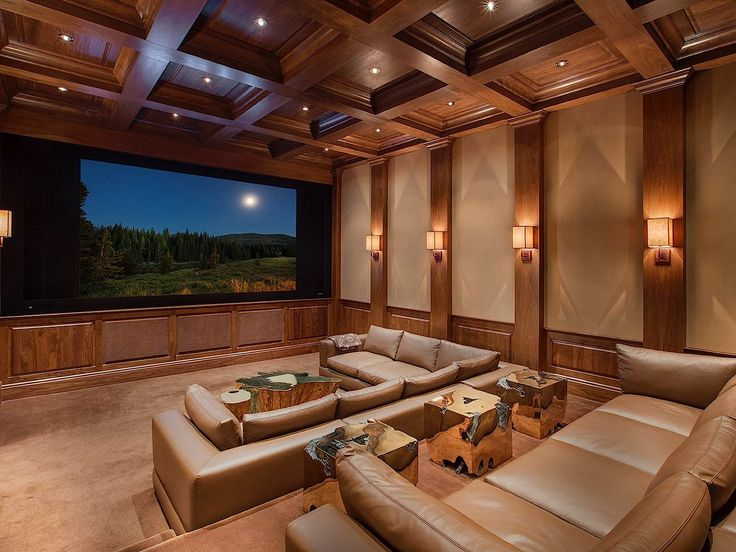 Home Theater Basement Pinterest Theater Home And In