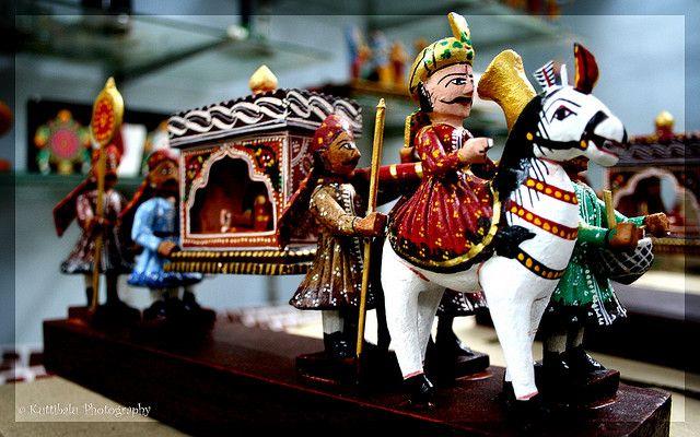 Kondapalli Toys from Andhra Pradesh, India