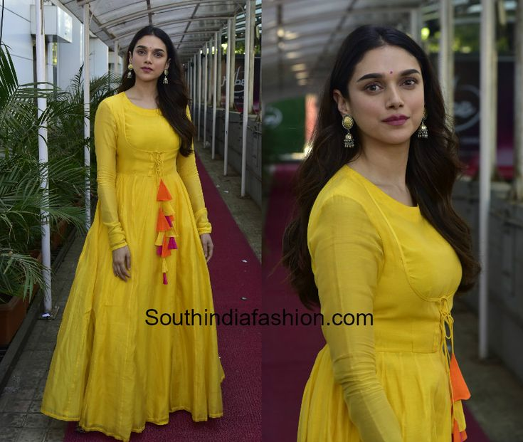 Aditi Rao Hydari in Vasavi The Label for her upcoming movie promotions 1 blouse designs