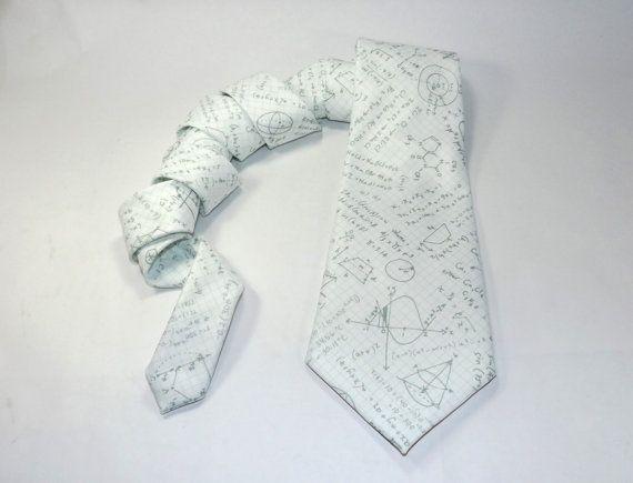 Math Krawatte, Millimeterpapier Krawatte, Math Doddles Krawatte, Graphen, Gleichungen, Mathematik-Lehrer-Geschenk, Mathe-Lehrer-Krawatte, Bleistiftzeichnungen, Math-Zubehör