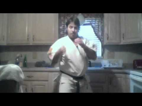 BASIC karate fighting skills, LEARN how to punch block and fight back - YouTube