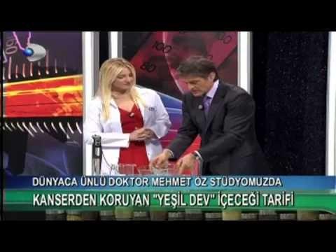 Dr.Mehmet Öz'den Kanserden Koruyan ''Yeşil Dev'' İçeceği Tarifi - Kadında Yaşam