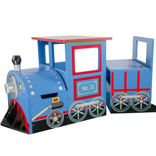 Shop for Teamson Kids - Children's Train Writing Table. Get free delivery at…