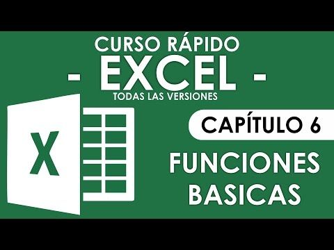 Curso Excel - Capitulo 7, BuscarV (Audio Mejorado) - YouTube