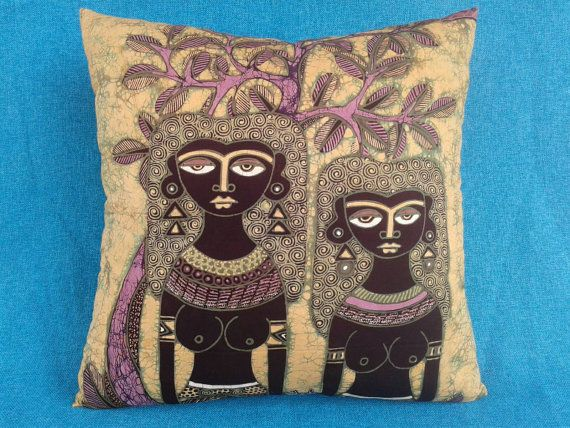 Check out this item in my Etsy shop https://www.etsy.com/listing/470351056/pillow-cover-batik-throw-pillow-sisters