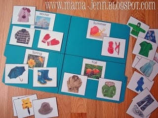 """""""Which Season do I belong To?"""" file Folder activity - Re-pinned by @PediaStaff – Please Visit http://ht.ly/63sNt for all our pediatric therapy pins"""