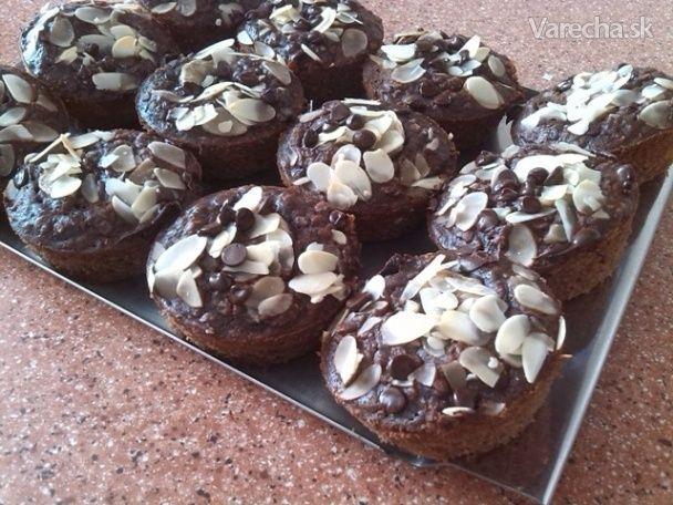 Čoko-banánové muffiny