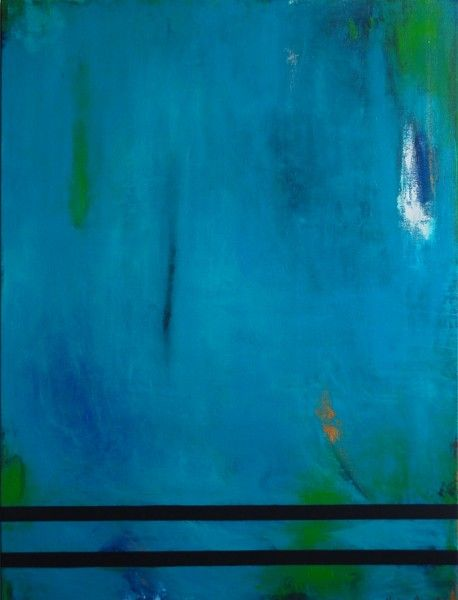 Navegando en tus profundidades ( Flowing in your deepest) Acrylic on Canvas 40×30