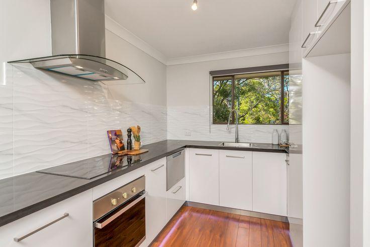 Custom Designed Kitchen by Designer - Ebony. #kitchendesigns #kitchenideas