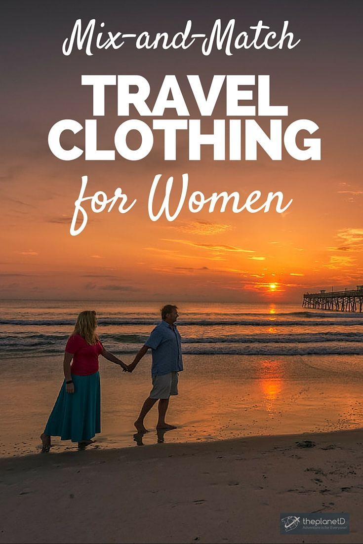 7 of the Best Mix and Match Travel Clothes for Women | It's difficult to pack light and look good at the same time. So I've rounded up my best most versatile pieces of travel clothes for women that I've been wearing the past few months of travel by TravelSmith | The Planet D: Canada's Adventure Travel Couple: