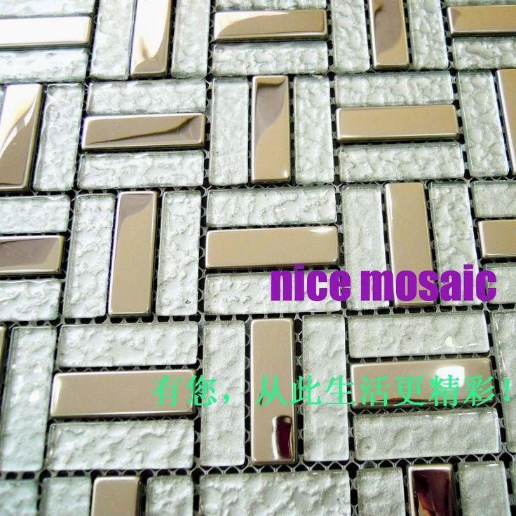1000 images about mosaici a specchio on pinterest kitchen backsplash mirror glass and tvs - Piastrelle tipo mosaico ...